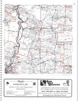 Map Image 004, Clearfield County 1999